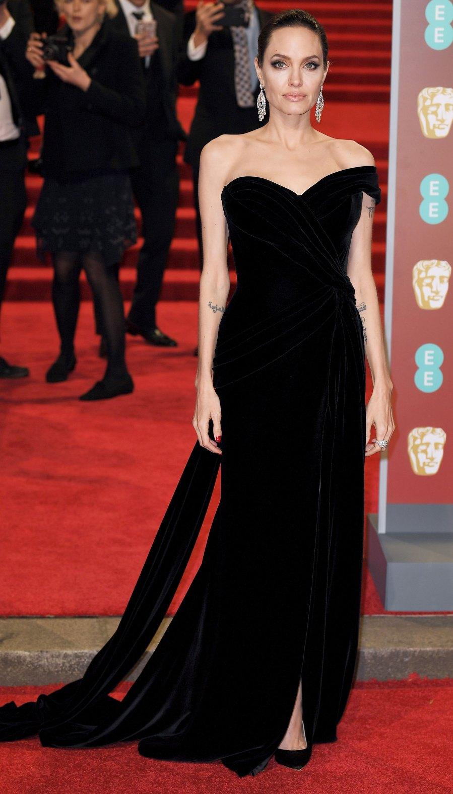 Angelina Jolie BAFTAs 2018