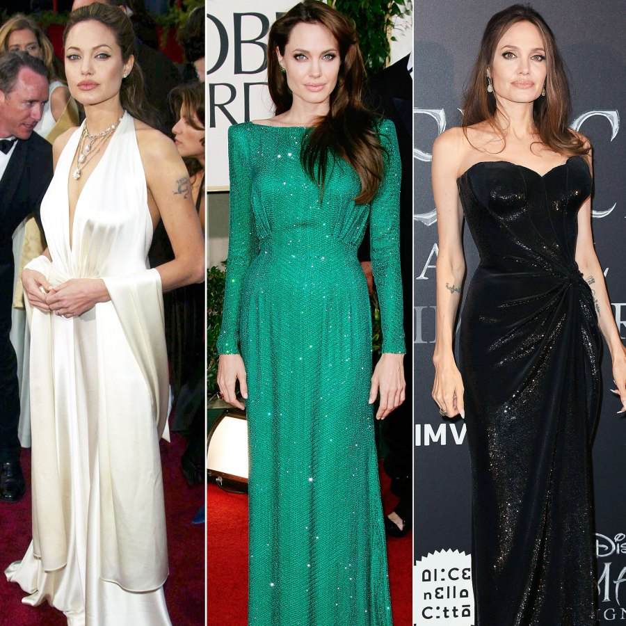 Angelina Jolie Best Red Carpet Moments