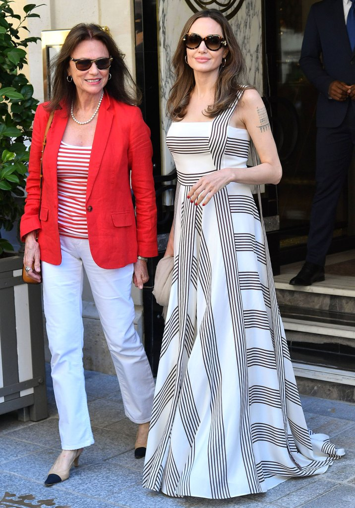 Angelina Jolie and Jacqueline Bisset Online VIP