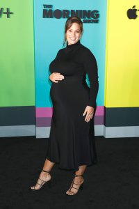 Ashley Graham's Baby Bump Album 'The Morning Show' TV show premiere October 2019