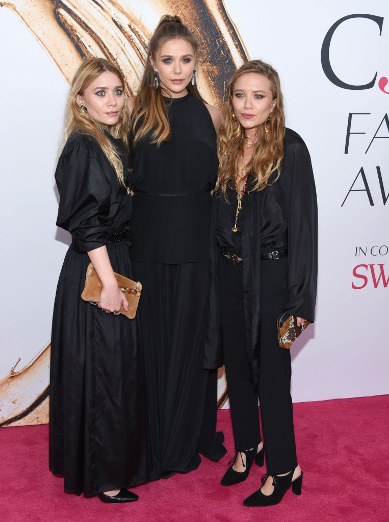 Ashley Olsen, Elizabeth Olsen and Mary-Kate Olsen
