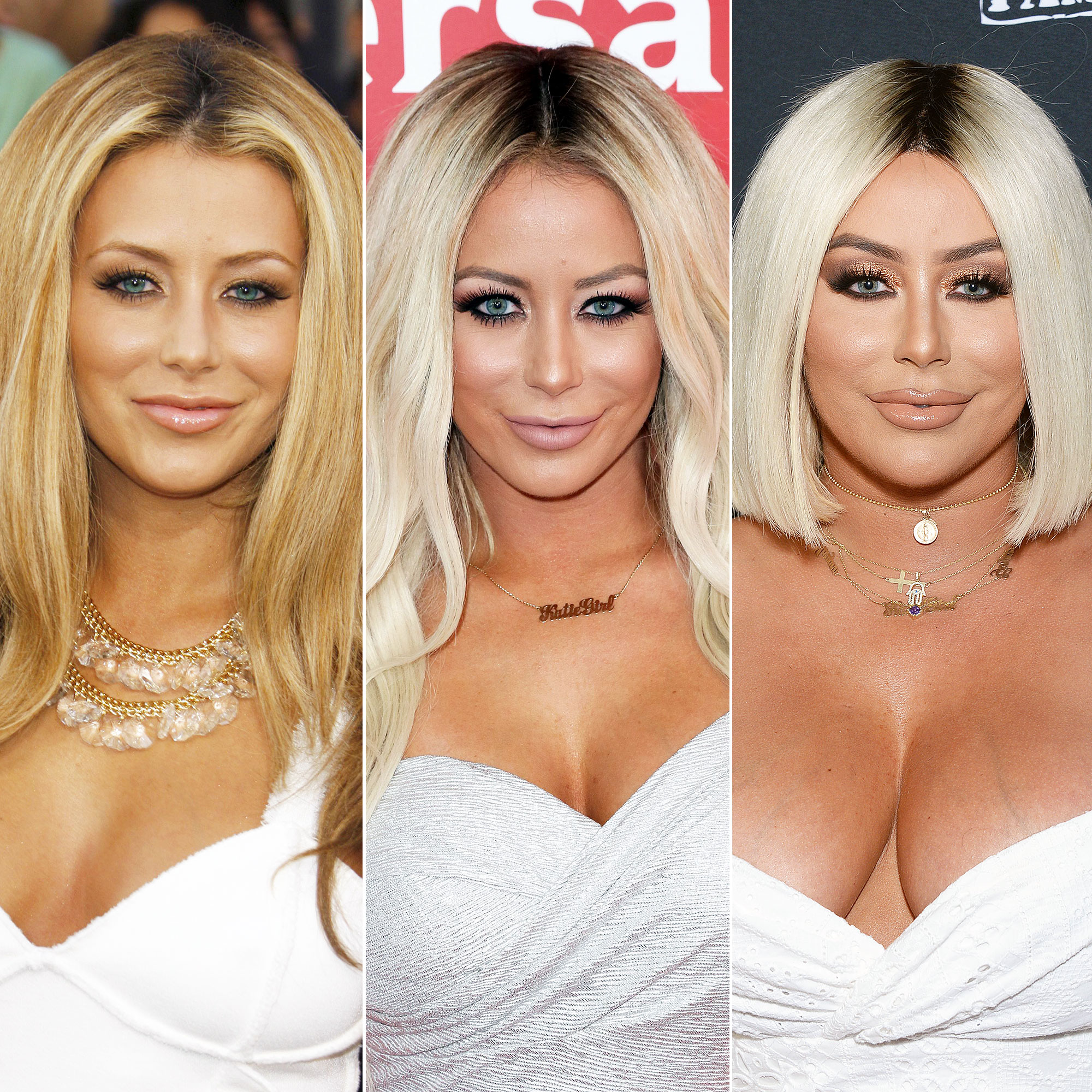 Aubrey O'Day Fires Back during Plastic Surgery Rumors