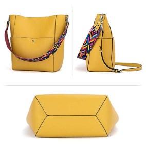 BROMAN Shoulder Bucket Bag angles