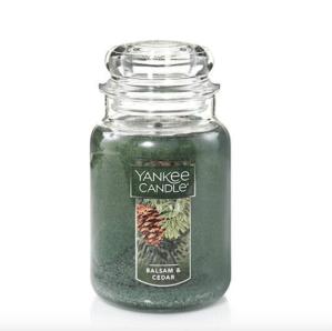 Balsam & Cedar Yankee Candle