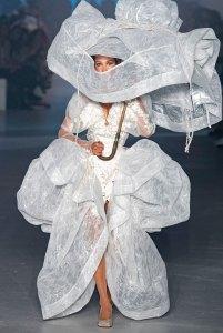 Bella Hadid Vivienne Westwood Runway