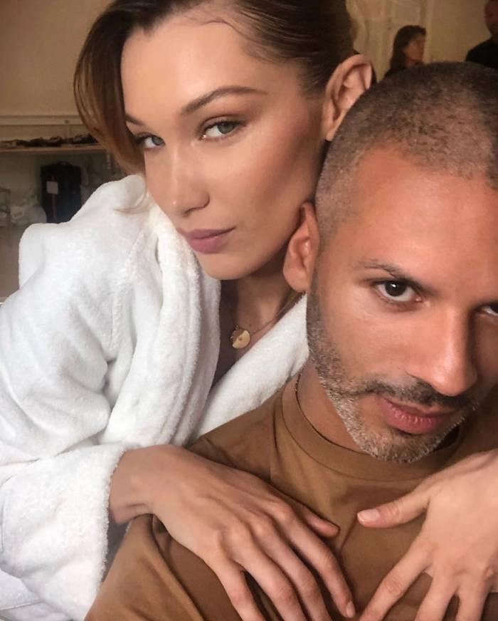 Bella Hadid and Vincent Oquendo Instagram