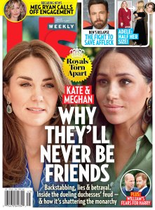 Ben Affleck Pals Are Concerned Amid Relapse Us Weekly Cover Issue 4519 Duchess Kate and Duchess Meghan