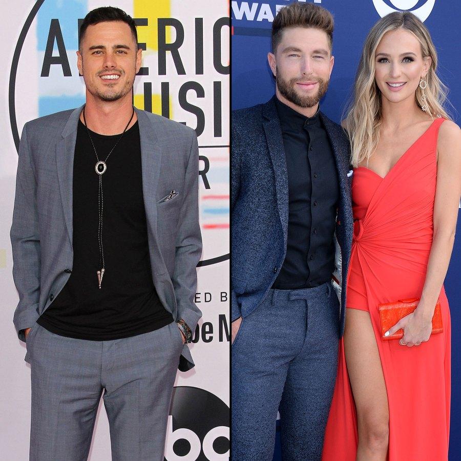 Ben Higgins Congratulated Ex-Fiancee Lauren Bushnell and Her Husband Chris Lane