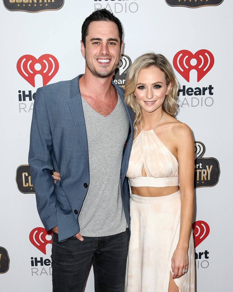Ben Higgins and Lauren Bushnell 2016 iHeartRadio Country Festival