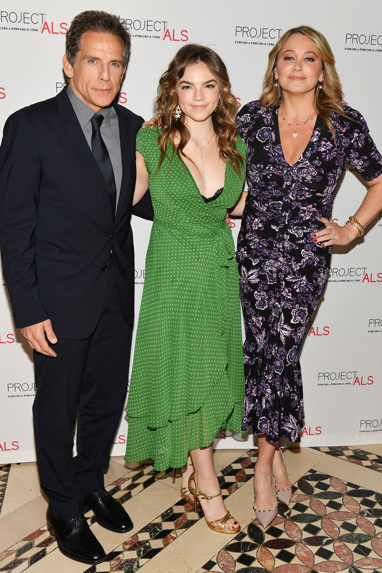 Ben Stiller and Christine Taylor Attend Project ALS Gala With Daughter Ella 2 Years After Split