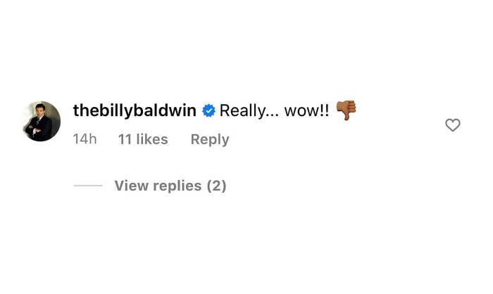 Billy Baldwin Is Not Happy With TV Host Who Said Hailey Baldwin Knows Selena Gomez Is The One for Justin Bieber