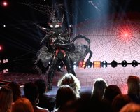 Black Widow Masked Singer Season 2 Two Costume Dress Up Singing Onstage