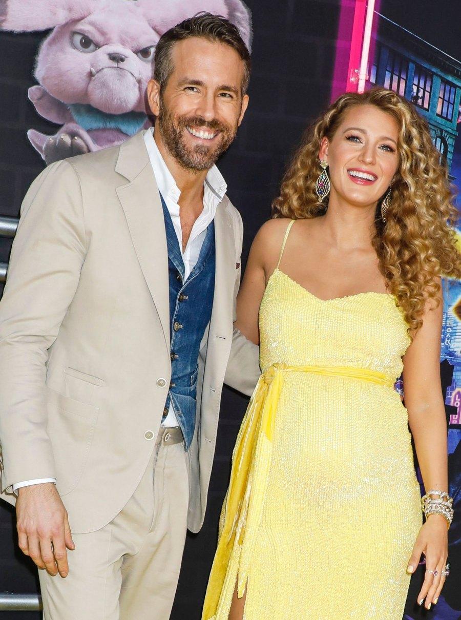 Blake Lively Ryan Reynolds CELEB SECRET BABIES