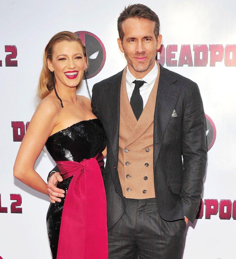 Blake Lively, Ryan Reynolds Deadpool 2