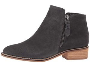 You Won't Believe That These Suede Booties Are Actually Waterproof!