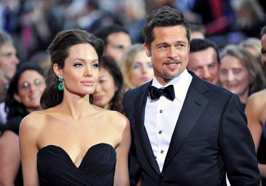Brad Pitt and Angelina Jolie The Way They Were