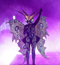 Butterfly Masked Singer Season 2 Two Costume Dress Up Singing Onstage