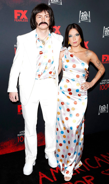 Celeb Couple Halloween Costumes - Evan Peters and Halsey