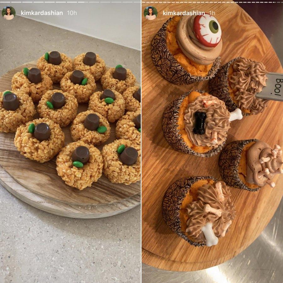 Celebs Share Their Halloween Eats