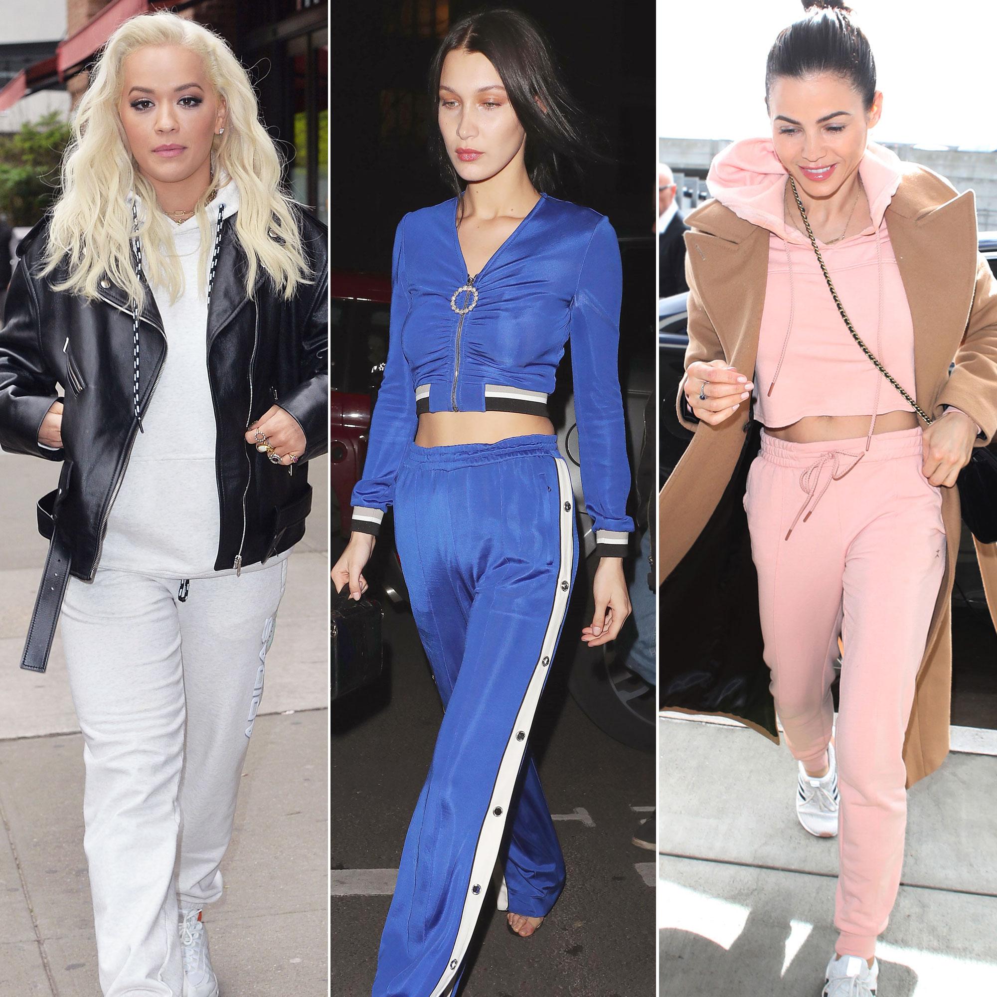 Celebrities Wearing Sweats, Tracksuits: Pics