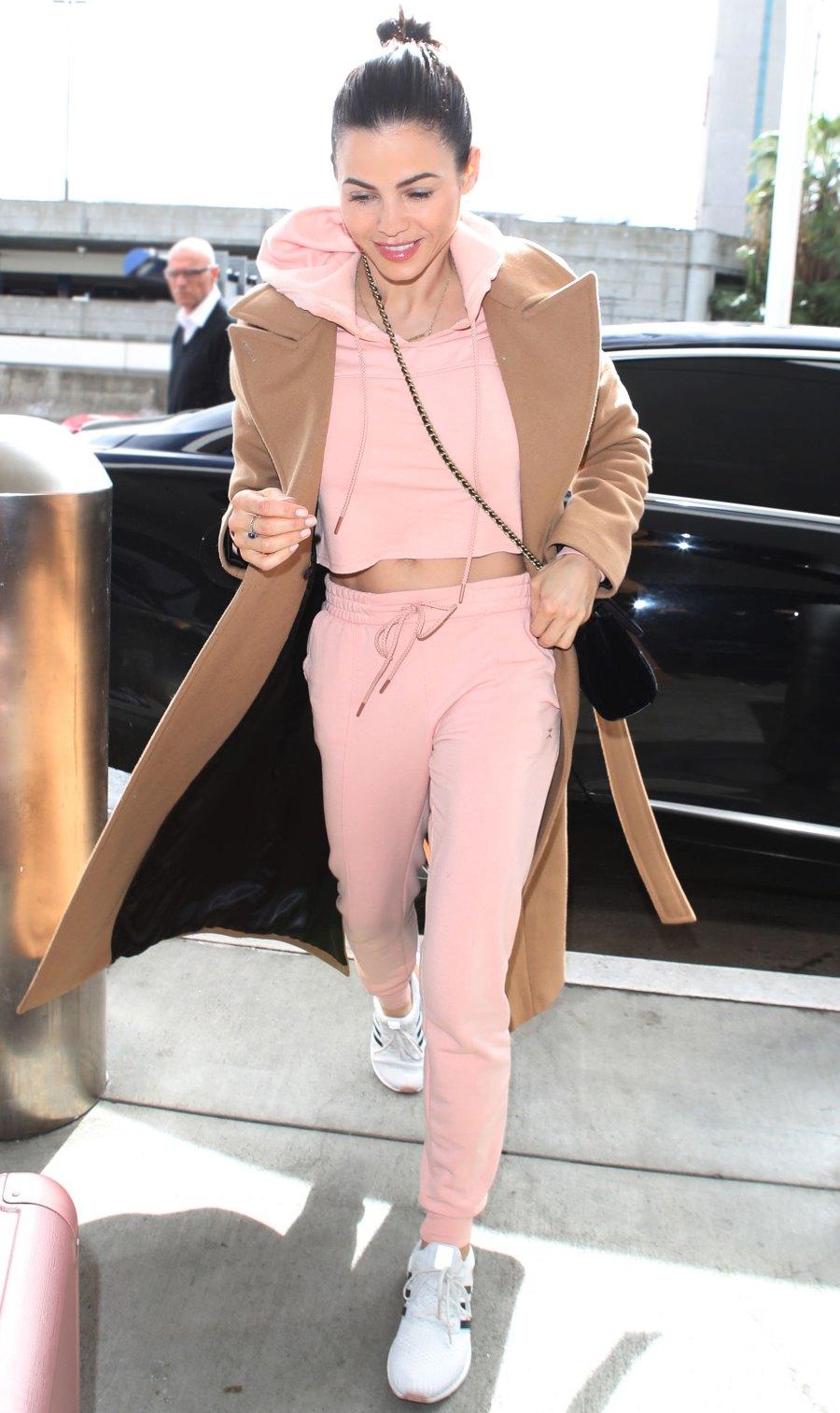 Celebs Wearing Sweats - Jenna Dewan