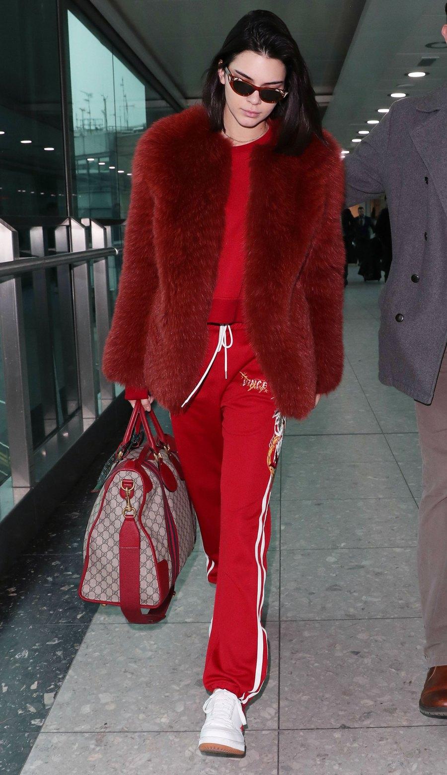 Celebs Wearing Sweats - Kendall Jenner