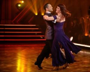 Kate Flannery and Pasha Pashkov 'Dancing with the Stars'