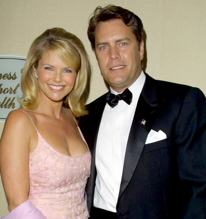 Christie-Brinkley-and-husband-Peter-Cook-in-2002