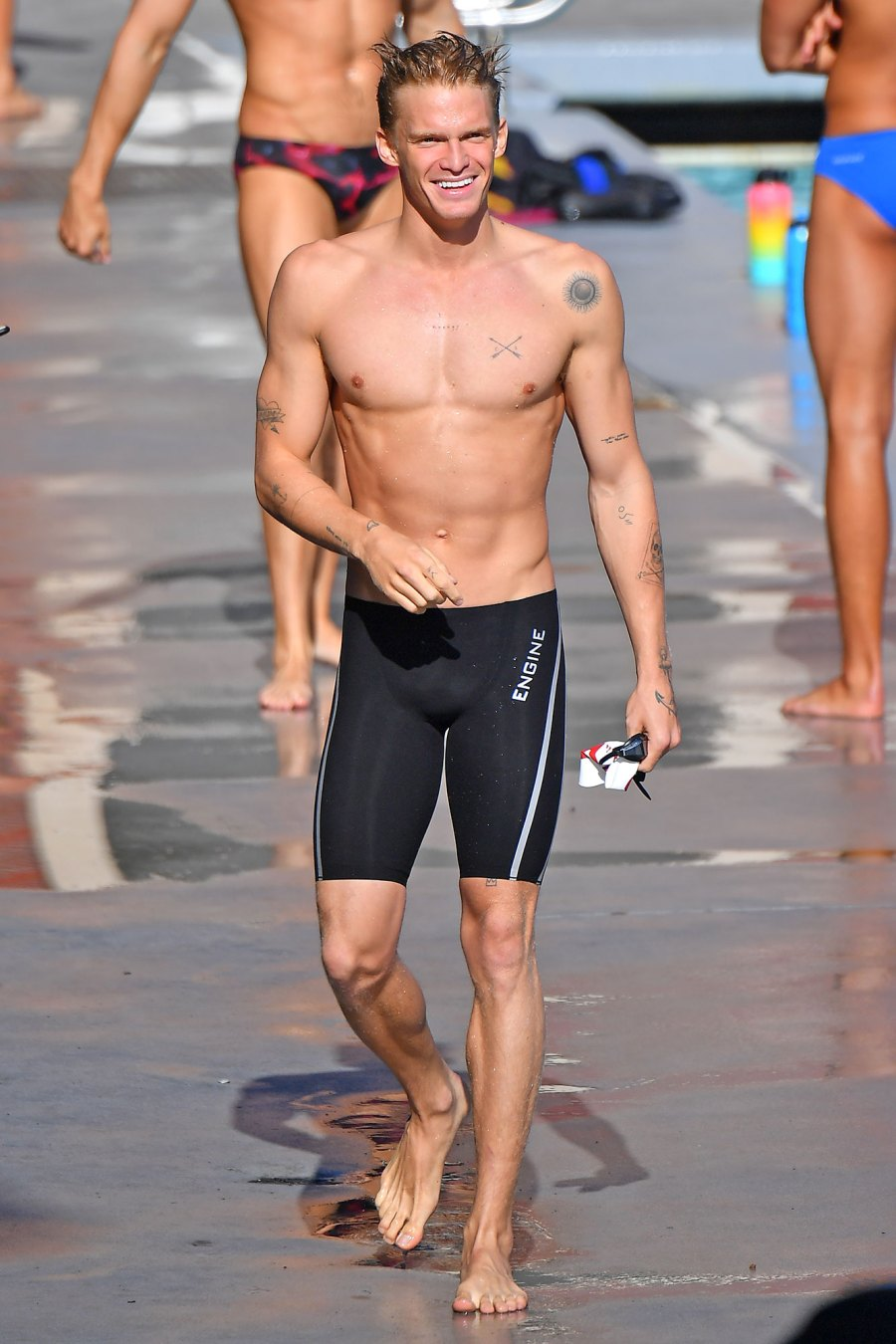 Hottest Celebrity Men at the Beach in Swim Trunks, Shirtless