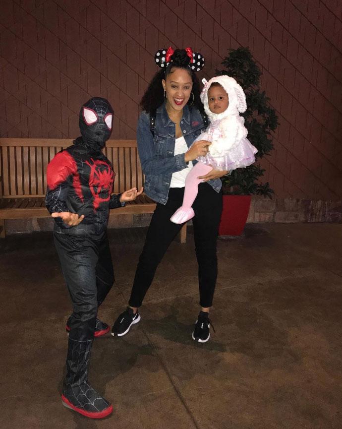 Cree Hardrict Tia Mowry Instagram Halloween Costumes