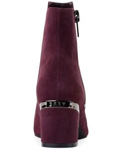 DKNY Crosbi Booties, Created For Macy's Oxblood Suede