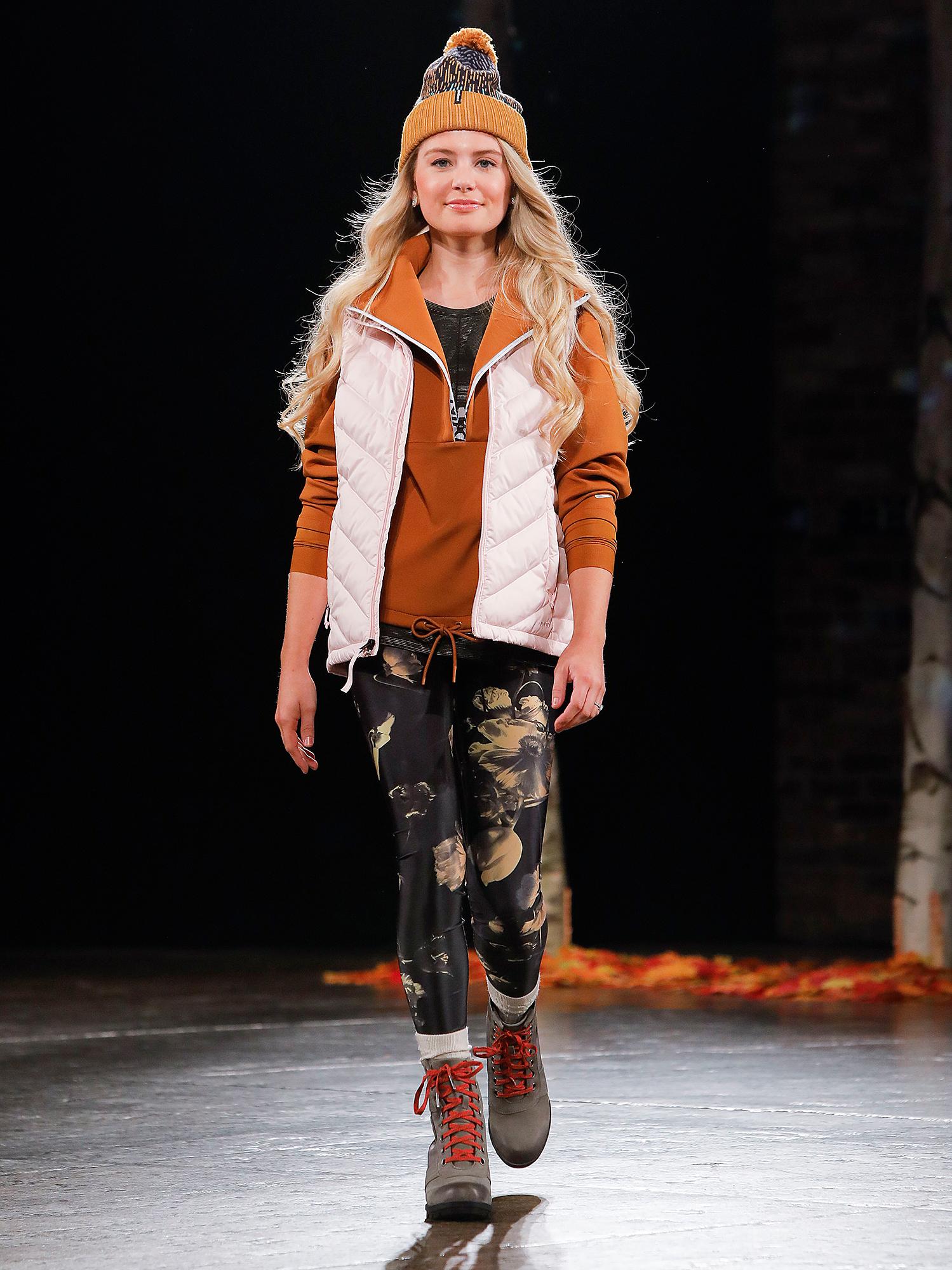 Demi-Burnett-walks-in-DICK'S-Sporting-Goods-First-Ever-Fashion-Show