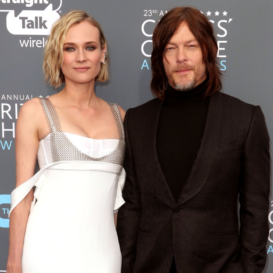 Diane Kruger's Screensaver Is Sweet Father-Daughter Pic of Norman Reedus With Baby Girl