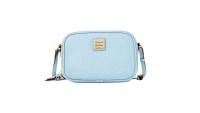 Dooney & Bourke Saffiano Leather Sawyer Crossbody blue