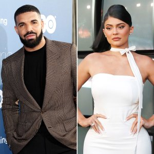 New Couple Alert Drake Kylie Jenner Flirt Each Other at Party