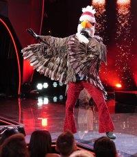 Eagle Masked Singer Season 2 Two Costume Dress Up Singing Onstage