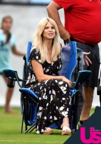 Elin Nordegren Steps Out With Jordan Cameron After Giving Birth to Baby No. 3
