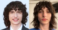 Finn Wolfhard Hair Change Mullet