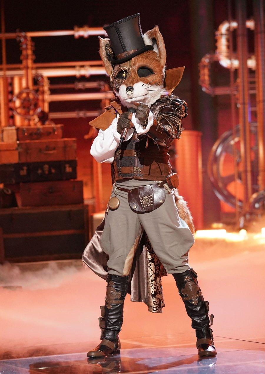 Fox Masked Singer Season 2 Two Costume Dress Up Singing Onstage