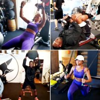 Gabrielle Union Dwyane Wade Work Out Really Hard Together