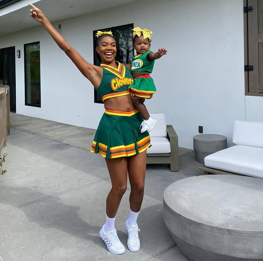 Gabrielle Union and Kaavia Wade - Mother-Daughter Twinning