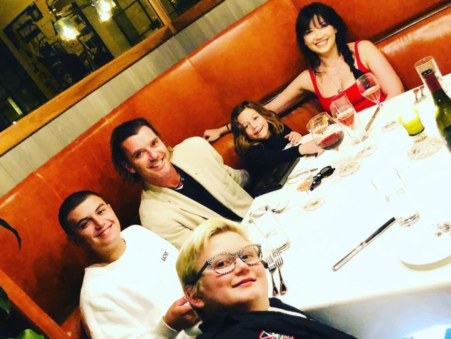 Gavin Rossdale Shares Rare Photo With All 4 of His Kids