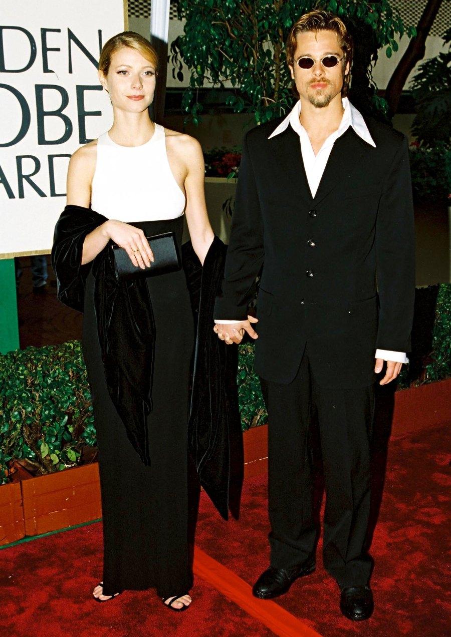 Brad Pitt Gwyneth Paltrow Through The Years