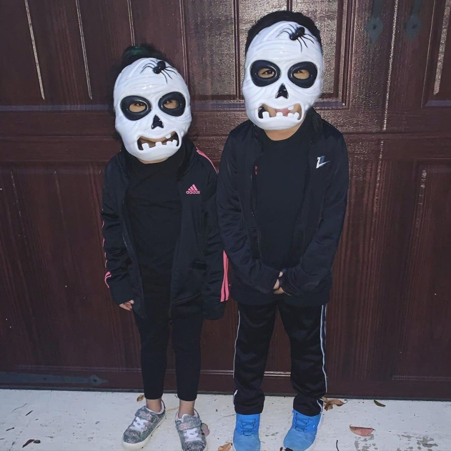 Halloween Costumes Lorenzo and Giovanna LaValle