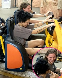 Halsey Evan Peters Pack on PDA During California Outing