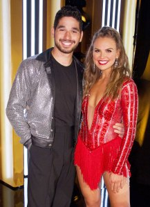 "Hannah Brown and Alan Bersten on ""Dancing with the Stars"""