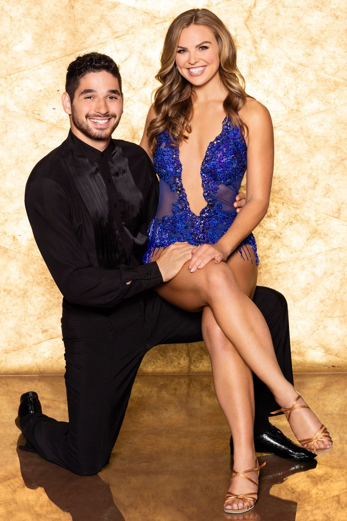 """Hannah Brown and Alan Bersten on """"Dancing with the Stars"""""""