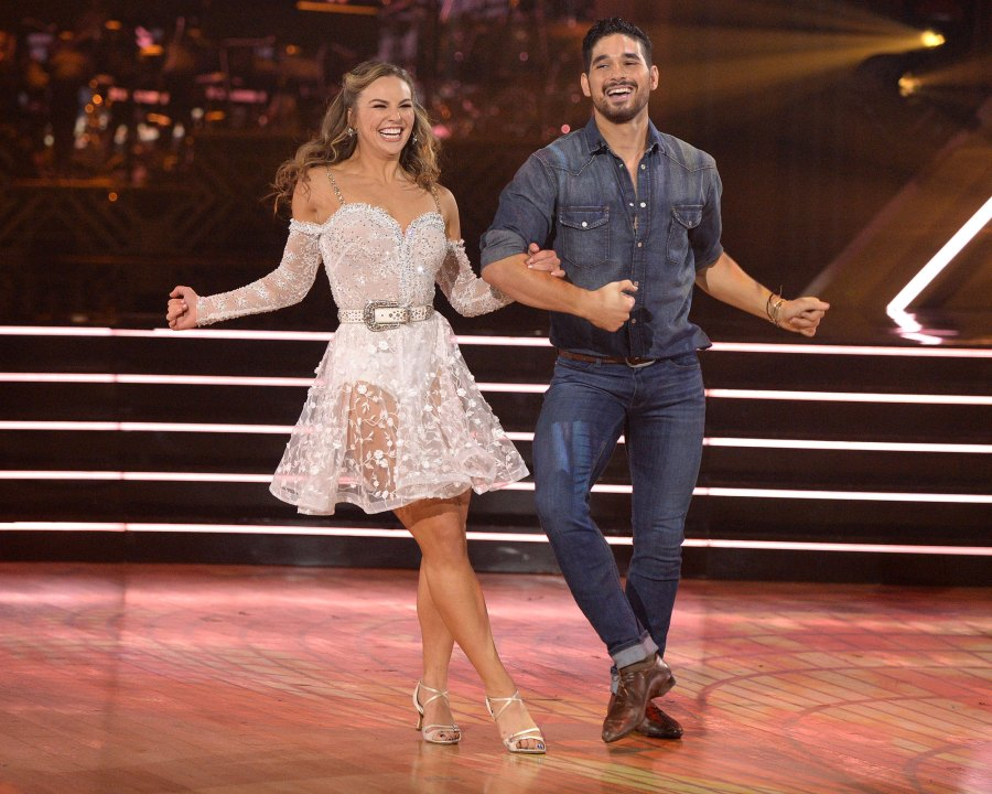 Hannah Brown and Alan Bersten Dancing With The Stars DWTS