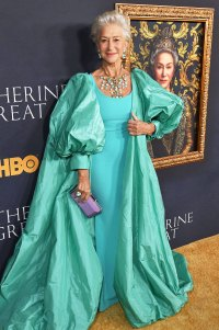 Helen Mirren, 74, Wears $250,000 Worth of Jewelry on 'Catherine the Great' Red Carpet