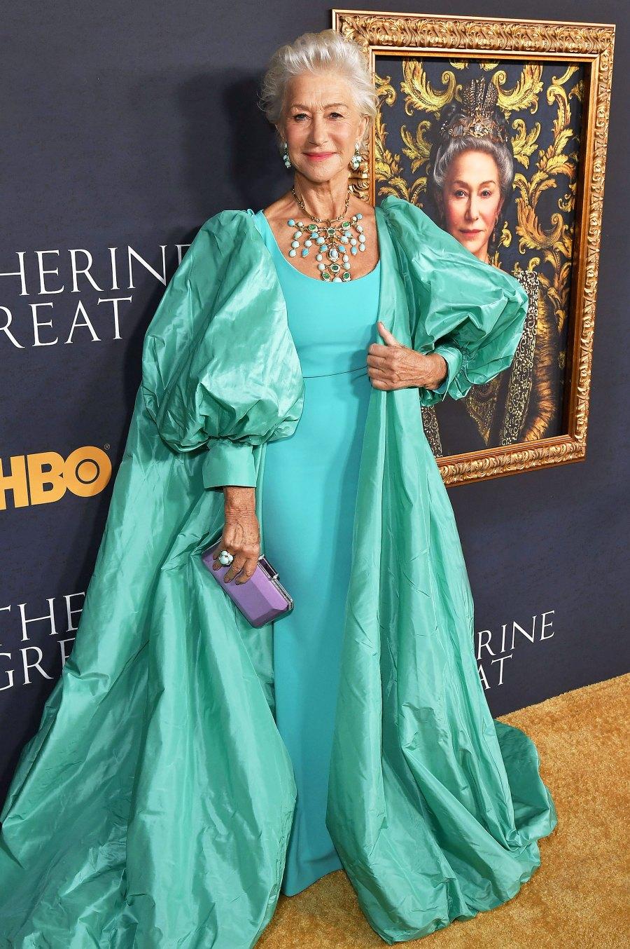 "Helen Mirren ""Catherine the Great"" Premiere Jewelry"